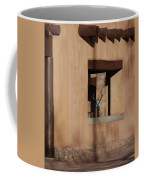 Santa Fe Adobe Window Coffee Mug