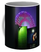 Santa Monica Pier After Dark Coffee Mug