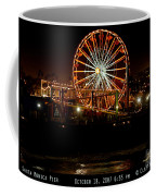 Santa Monica Pier October 18 2007  Coffee Mug