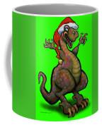 Santa Saurus Rex Coffee Mug