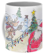 Santa Slam Coffee Mug