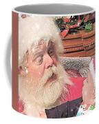 Santa Stars  Coffee Mug
