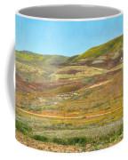 Santa Ynez Mountains Wildflowers Coffee Mug