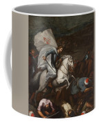 Santiago At The Battle Of Clavijo Coffee Mug