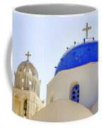 Santorini Coffee Mug by Joana Kruse