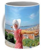 Sao Jorge Castle Overlook Coffee Mug