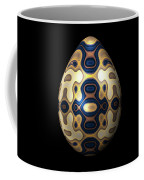 Sapphire And Gold Imperial Easter Egg Coffee Mug