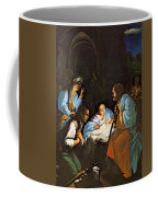 Saraceni Carlo The Birth Of Christ Coffee Mug