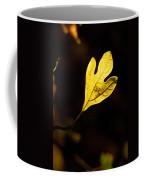 Sassafras Leaf Aglow Coffee Mug