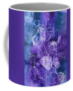 Sassy White Flowers Coffee Mug