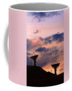 Satellite Sunset Coffee Mug