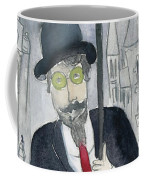 Satie Walking In The Rain Coffee Mug