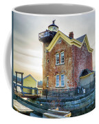 Saugerties Lighthouse Coffee Mug by Nancy De Flon