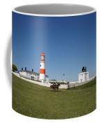 Souter Lighthouse And Foghorn. Coffee Mug
