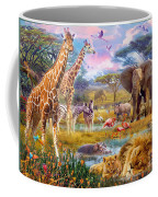 Savannah Animals Coffee Mug