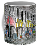 Savannah Georgia River Street 2 Painting Art Coffee Mug