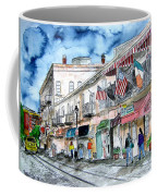 Savannah Georgia River Street Coffee Mug