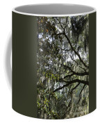 Savannah Green Leaves Coffee Mug