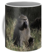 Savannah Olive Baboon  Coffee Mug