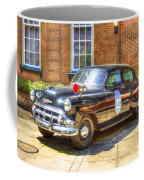 Savannah Police Car 1953 Chevrolet  Coffee Mug