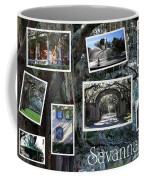 Savannah Scenes Collage Coffee Mug