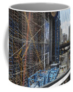 Scaffolding In The City Coffee Mug