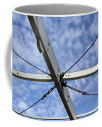 Scaffolding Sky View Coffee Mug