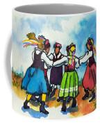 Scandinavian Dancers Coffee Mug