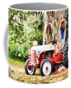 Scarecrow And Pumpkins 2 Coffee Mug