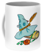 Scarecrow Hat From Wizard Of Oz Coffee Mug