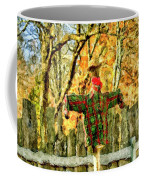 scarecrow in field at Stanhope Waterloo Village Coffee Mug