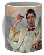 Scarface Coffee Mug by Ylli Haruni