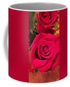 Scarlet Roses Coffee Mug