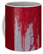 Scarlet Squiggle Coffee Mug