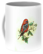 Scarlet Tanager - Summer Season Coffee Mug