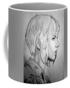 Scarlett Johansson As Major From Ghost In The Shell Coffee Mug