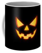 Scary Halloween Horror Pumpkin Face Coffee Mug
