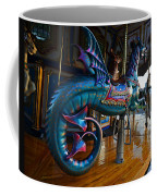 Scary Merry Go Round Boston Common Carousel Coffee Mug
