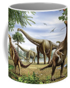 Scelidosaurus, Nothronychus Coffee Mug