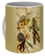 Scene From A Fifties Craft Room Coffee Mug