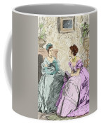 Scene From Anthony Trollope's Novel He Knew He Was Right Coffee Mug