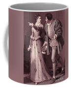 Scene From Much Ado About Nothing By William Shakespeare Coffee Mug