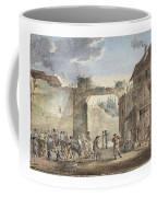 Scene In A Courtyard Coffee Mug