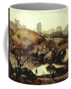 Scene In Central Park Coffee Mug
