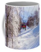 Scenery Around Timberline Ski Resort West Virginia Coffee Mug