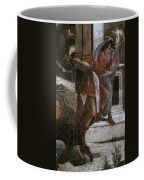 Scenes From The Life Of Moses Detail Alessandro Botticelli Coffee Mug