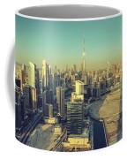 Scenic Aerial View Of Dubai Coffee Mug