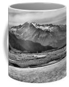 Scenic Alaska Bw Coffee Mug