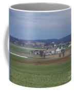 Scenic April Amish Vista Coffee Mug
