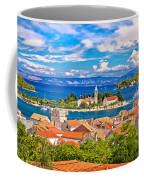 Scenic Island Of Vis Waterfront Coffee Mug